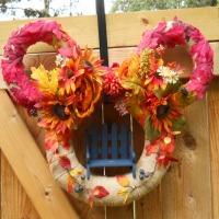 mickey wreath