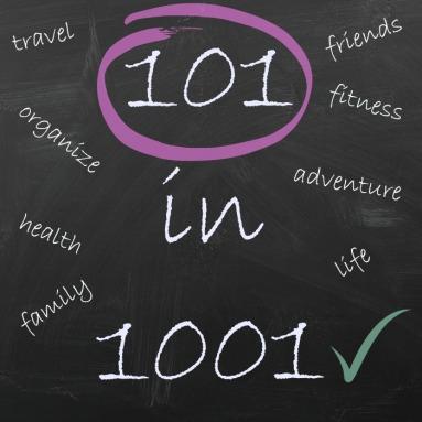 101 in 1001 chalkboard