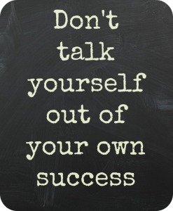Don't talk yourself