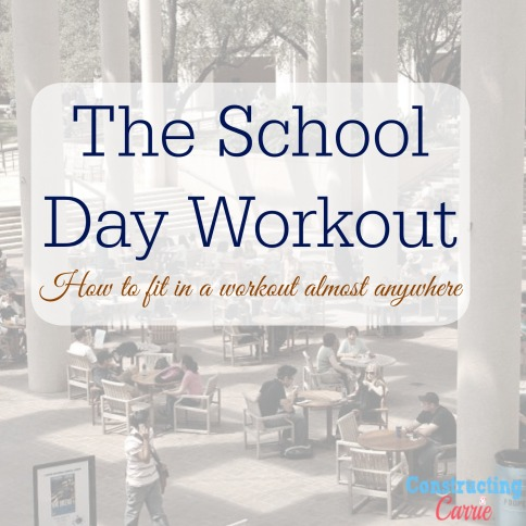 the school day workout