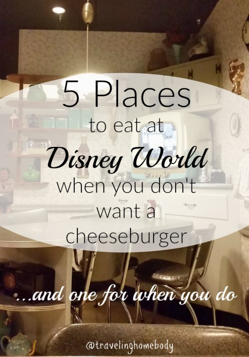 5 places to eat
