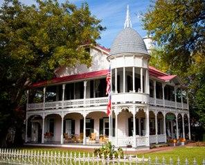 H.D. Gruene's original home- now the Gruene Mansion Inn